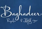 Baghadeer [2 Fonts] | The Fonts Master