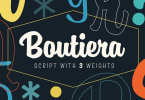 Boutiera [3 Fonts] | The Fonts Master