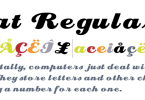 Eclat [1 Font] | The Fonts Master