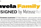 Favela [18 Fonts] | The Fonts Master
