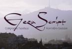 Geza Script [1 Font] | The Fonts Master