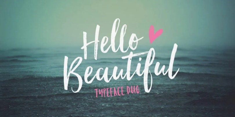 Hello Beautiful [3 Fonts]   The Fonts Master