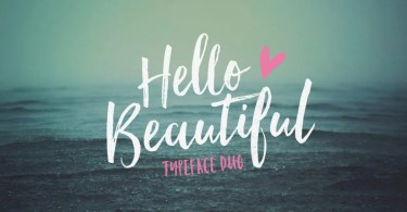 Hello Beautiful [3 Fonts] | The Fonts Master