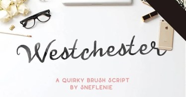 Westchester [2 Fonts] | The Fonts Master