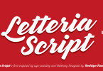 Letteria Script [5 Fonts] | The Fonts Master