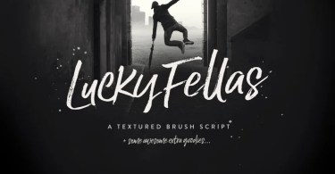 Lucky Fellas [5 Fonts] | The Fonts Master