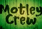 Motley Crew [2 Fonts] | The Fonts Master