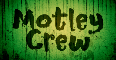 Motley Crew [2 Fonts] | The Fonts Master