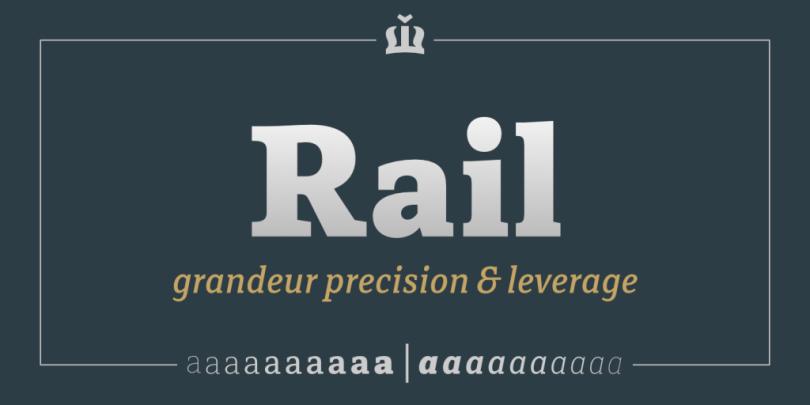 Rail Super Family [20 Fonts] | The Fonts Master