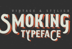 Smoking Typeface [3 Fonts] | The Fonts Master