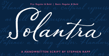 Solantra [4 Fonts] | The Fonts Master