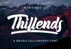 Thillends [2 Fonts] | The Fonts Master