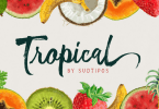 Tropical [4 Fonts] | The Fonts Master