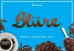 Blure [1 Font] | The Fonts Master