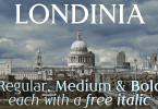 Londinia [6 Fonts]   The Fonts Master