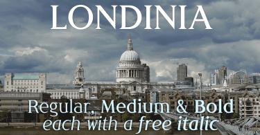 Londinia [6 Fonts]