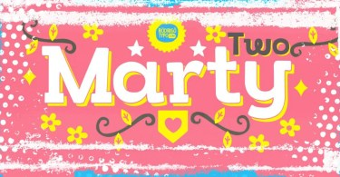 Marty Two [3 Fonts] | The Fonts Master