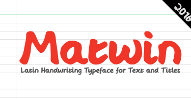 Matwin [1 Font] | The Fonts Master