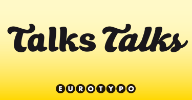 Talks [2 Fonts]
