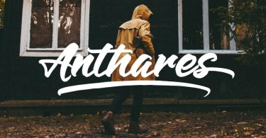 Anthares [2 Fonts]   The Fonts Master