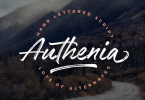 Authenia [1 Font] | The Fonts Master