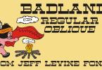 Badlands Jnl [2 Fonts] | The Fonts Master