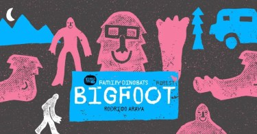 Big Foot Forest [4 Fonts] | The Fonts Master