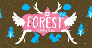 Forest Two [5 Fonts] | The Fonts Master