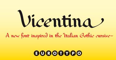 Vicentina [1 Font] | The Fonts Master