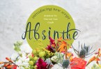 Absinthe [1 Font] | The Fonts Master