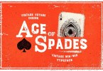 Ace Of Spades [1 Font] | The Fonts Master