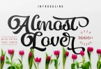Almost Lover [1 Font + Extras] | The Fonts Master