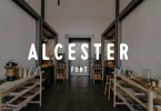 Alcester [1 Font] | The Fonts Master