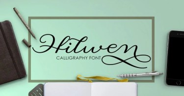 Hilwen Script [2 Fonts] | The Fonts Master