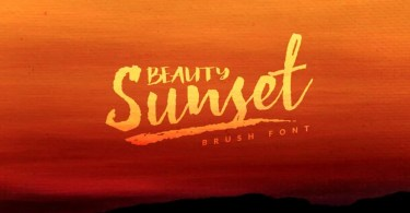 Beauty Sunset [4 Fonts] | The Fonts Master