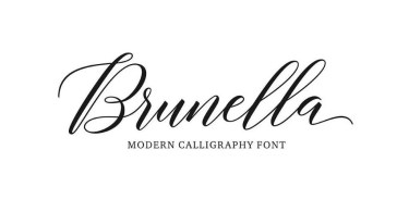 Brunella [2 Fonts] | The Fonts Master