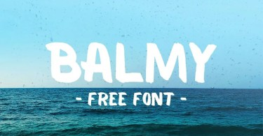 Balmy [1 Font] | The Fonts Master