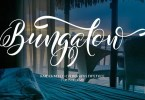 Bungalow Script [2 Fonts] | The Fonts Master