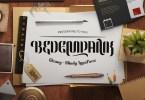 Bedempank [1 Font] | The Fonts Master