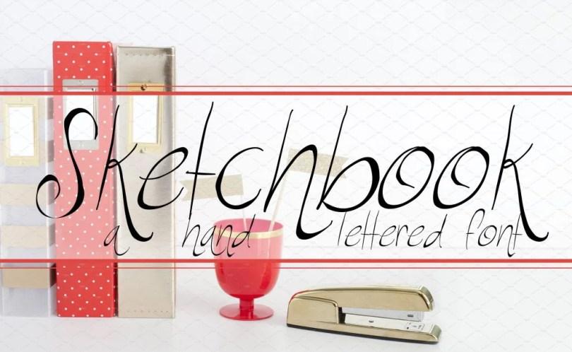 RF Sketchbook [1 Font]