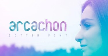 Arcachon Dotted [1 Font] | The Fonts Master