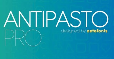 Antipasto Pro Super Family [17 Fonts] | The Fonts Master