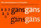 Anselm Serif [10 Fonts] | The Fonts Master