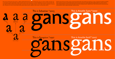 Anselm Serif [10 Fonts] | The Fonts Master