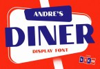 Andre'S Diner [1 Font] | The Fonts Master