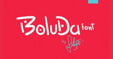 Boluda [3 Fonts] | The Fonts Master