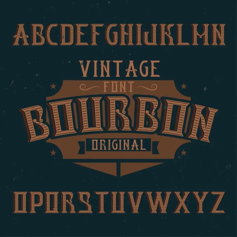 Bourbon [6 Fonts] | The Fonts Master