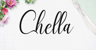 Chella [1 Font] | The Fonts Master
