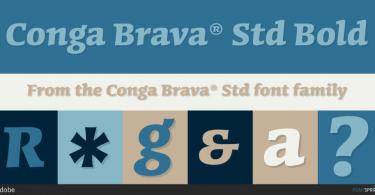 Conga Brava Super Family [9 Fonts] | The Fonts Master