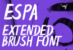 Espa Extended [1 Font] | The Fonts Master